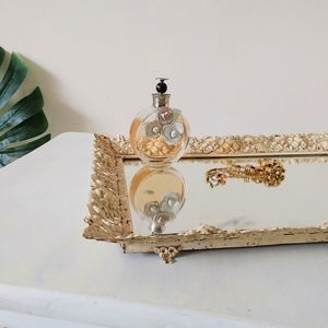 Antique Mirrored Vanity Tray